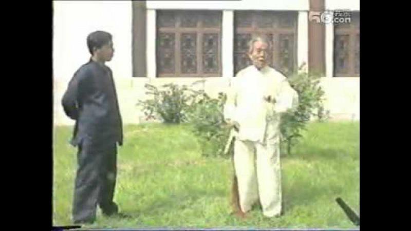 吴式64式太极剑教学 一 王培生先生