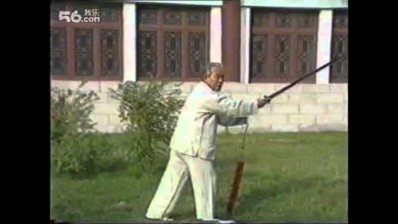 王培生先生 吴式64式太极剑教学 三