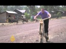 Wooden bikes take off in DRC city
