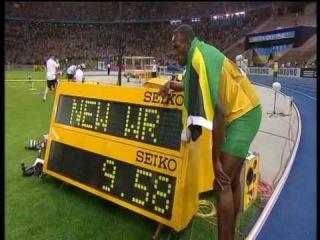 Usain Bolt new 100m world record: 9.58