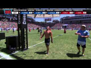 2014 Reebok CrossFit Games   Individual Muscle up Biathlon Men Heat 2