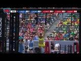 2014 Reebok CrossFit Games -  Individual Muscle up Biathlon Woman Heat 1