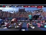 2014 Reebok CrossFit Games -  Individual 21-15-9 Complex Men Heat 1