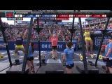 2014 Reebok CrossFit Games - Individual 21-15-9 Complex Women Heat 3