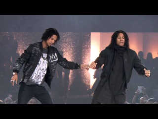 Les Twins THE DANCE 2016 (Urban Dance Competition) PERFORMANCE in Zürich бешеные псы