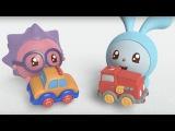 Малышарики - Машинка (13 серия) Мультики про машинки