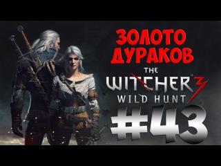The Witcher 3 Wild Hunt. Прохождение. Часть 43 (Золото Дураков) 60fps
