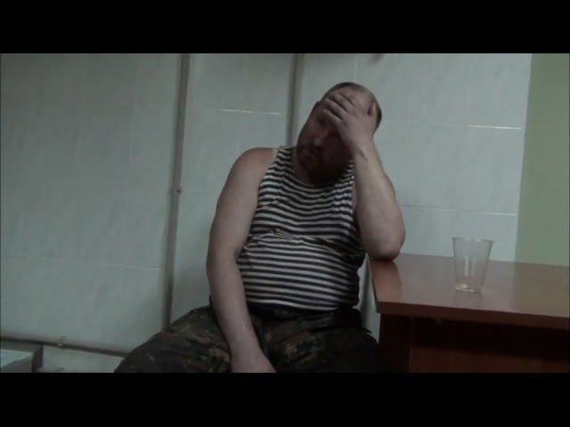 Допит пєтуха з ЛНР, відео Informnapalm