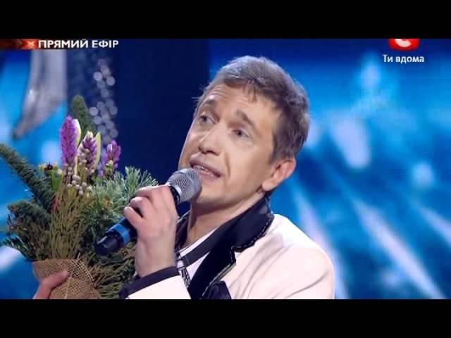Х-фактор-2 Галаконцерт. Сергей Соседов. 01.01.2012