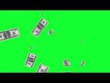 Деньги Часть #2 Хромакей Зеленый фон Футаж