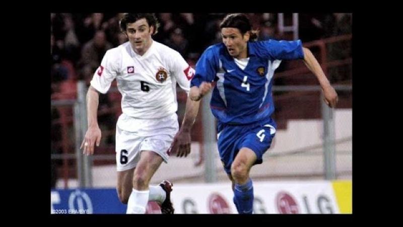 Отборочный матч ЧЕ 2004 Грузия - Россия