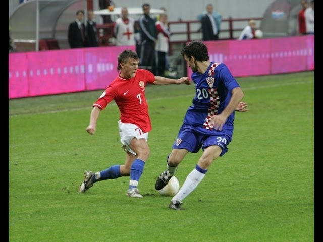 Россия 0 0 Хорватия Отбор ЕВРО 2008