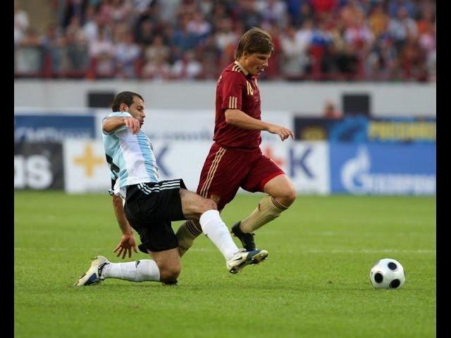 2009 г 12 августа Москва Товарищеский матч РОССИЯ АРГЕНТИНА 2 3