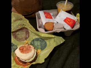 """McDonald's low-carb secret menu. You're welcome."""