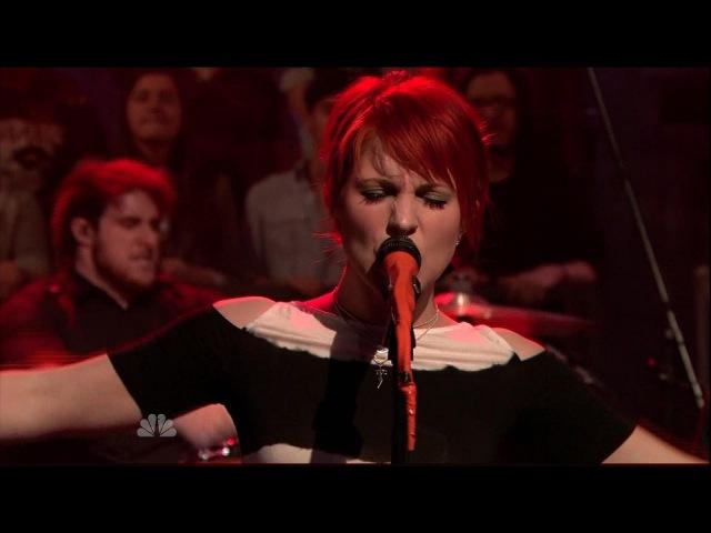 Paramore - Brick By Boring Brick (Live on Jimmy Fallon)