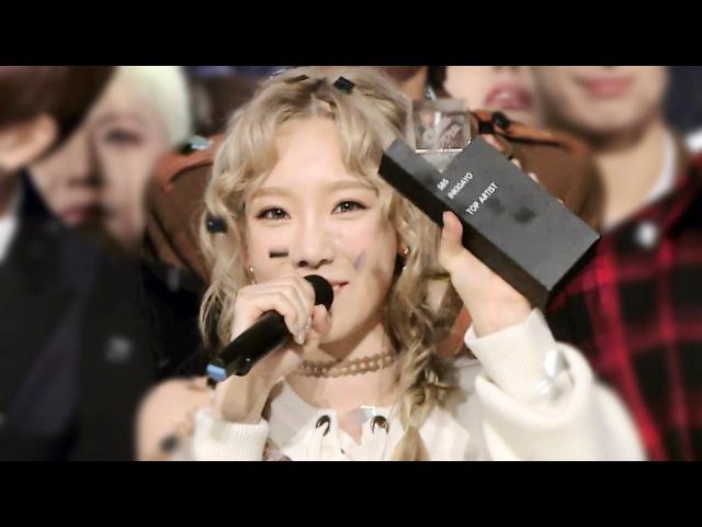 《Inkigayo WIN》 인기가요 1위 발표|태연(TAEYEON) - I(아이) 20151018 кфк