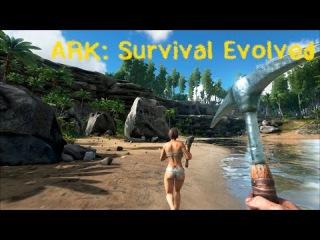 Обзор геймплея ARK: Survival Evolved | Первый взгляд
