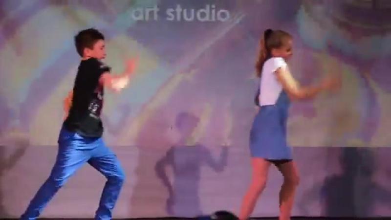 Алина Шаповал и Тимур Москальчук (Open Crew)(OAS Consert)