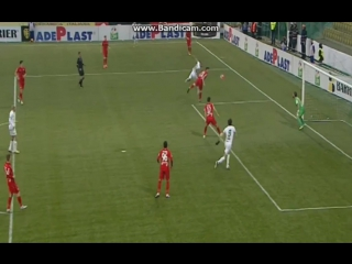 ГОЛ Милевского ● Concordia Chiajna 2 –0 Dinamo ● Полуфинал Кубка Лиги ● 20.02.2016