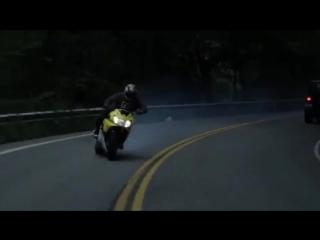 Motosiklet Lastik Yakma