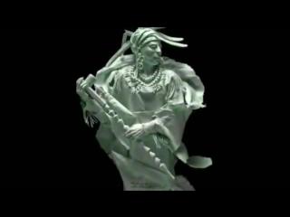 Индейская этническая музыка.avi