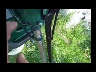Самодельный лодочный мотор из триммера на резиновую лодку своими руками