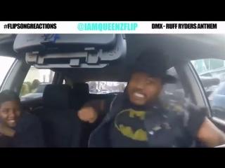 Funny_ Музыка качает в машине... #flipsongreactions)))