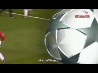 Манчестер Юнайтед 4-3 Реал Мадрид | 1/4 ЛЧ 2002/2003 | Обзор матча