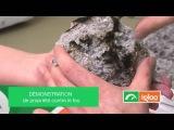 Тест на горение - минвата на эковате
