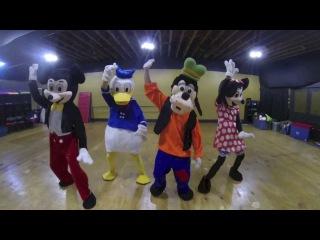 Disney Characters | #NaeNae Dance | Super Sega Dragons