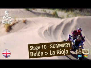 Stage 9 and 10 Summary - Truck/Quad - (Belen / La Rioja)