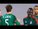Локомотив - Скендербеу 2-0 Лига Европы обзор матча 01.10.15