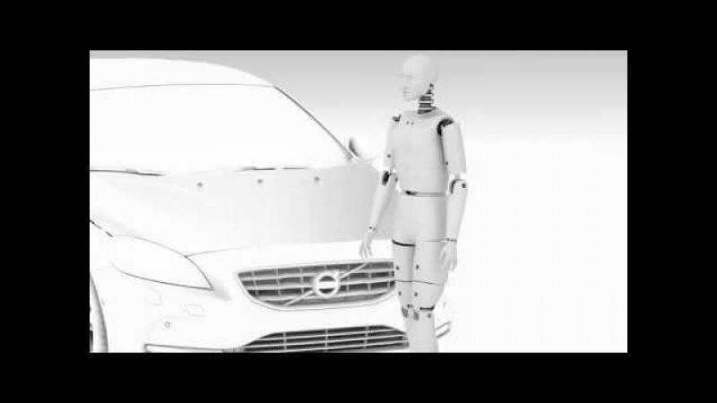 De nieuwe Volvo V40 Pedestrian Airbag Technology