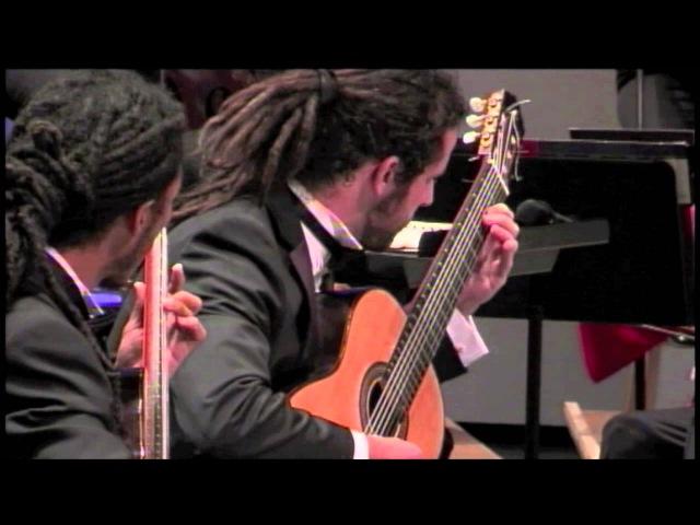 I Castelnuovo Tedesco Concerto for Two Guitars Brasil Guitar Duo heartland festival orchestra