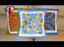 Aula em vídeo de almofada em patchwork As flexas Quilted patchwork pillow Make a quilted pillow