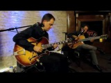 Howard Alden and Andy Brown Jazz Guitar Duo Concert at the Whiskey Lounge in Evanston, IL