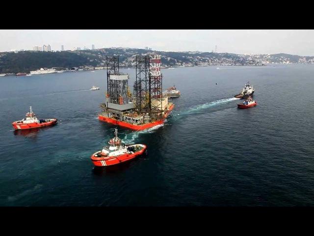 MAGNUS - Bosporus Jack-Up Towage / Rig Move