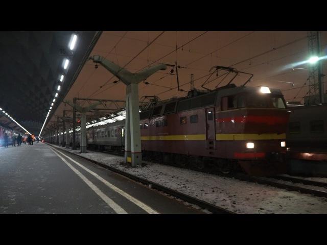 ЧС2Т-1014 с поездом №29 СПб-Москва (RZD)