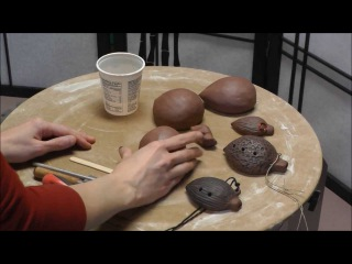 Pottery: Ocarina Clay Whistle