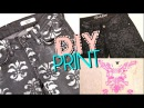 DIY Print Jeans Top Brocade Damask Styling Ideas at the End