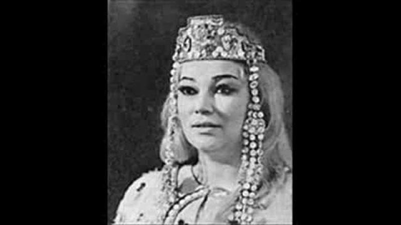 Bela Rudenko sings Glière's Coloratura Concerto (1st mvt.)