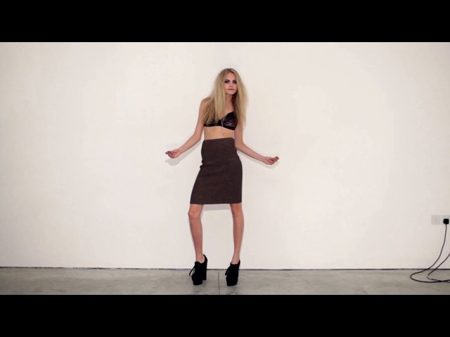 """Director's Cuts Cara Delevingne in """"Cara"""" by Matthew Donaldson - NOWNESS"""