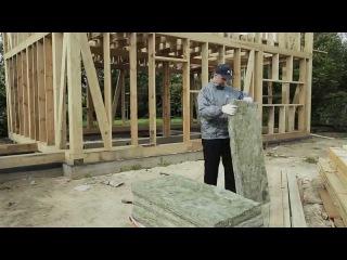 Как правильно утеплять каркасный дом с помощью URSA TERRA