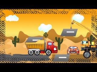 ✔ Çocuklar için arabalar / Yarış arabası. Arabanın neşeli maceraları / Bölüm 3 ✔