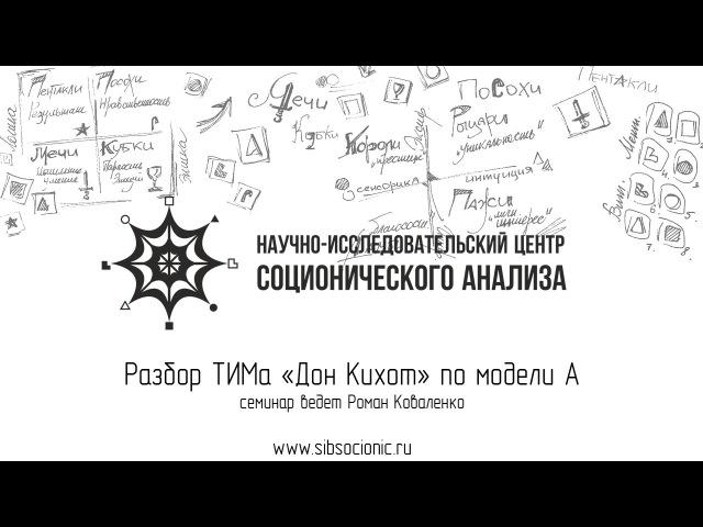 Дон Кихот: разбор ТИМа по модели А