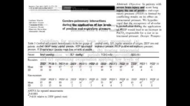 Длительная ИВЛ и перевод на самостоятельное дыхание в нейрореанимации (кИВЛ14д) Грицан А И
