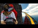 Американские горки с Oculus Rift DK2 (Castle Coster, NoLimits 2, Helix) в Virtuality Club