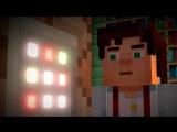 Minecraft Story Mode - ГРЁБАНЫЕ ОЦЕЛОТЫ! - Часть 2