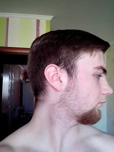Beard at 17 years old