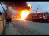 Взрыв на автозаправке в Кизляре